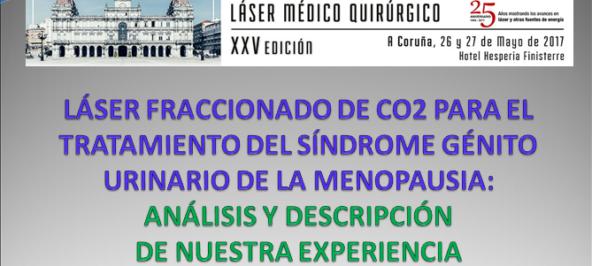 Presentación de ponencia en el Congreso Nacional Láser Médico Quirúrgico
